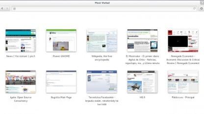 Die meistbesuchten Webseiten in der neuen Epiphany-Übersicht
