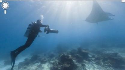 Abgetaucht: 360-Grad-Unterwasserkamera