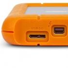 Lacie: Externe Thunderbolt- und USB-3.0-SSD ohne Netzteil