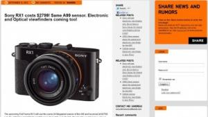 Sony: Präsentation neuer Kameras am 12. September