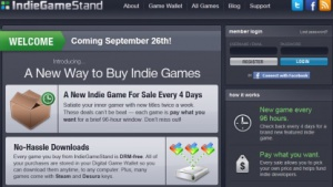 Indie Game Stand