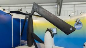 Aerie-Drohnen: Flügel werden zum Rotor.