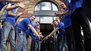 Eröffnung eines Apple Stores am 15. September 2012 in Straßburg