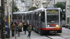 Zug der San Francisco Municipal Railway: seit Dezember 2011 vor Sicherheitslücke gewarnt