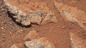 Zu groß, um vom Wind transportiert worden zu sein: Kiesel auf dem Mars