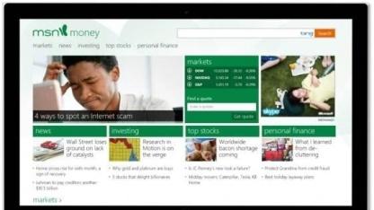Neues MSN startet zusammen mit Windows 8.