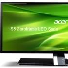 """Acer S275HL: Weiteres IPS-Display mit """"nahezu unsichtbarem Rahmen"""""""
