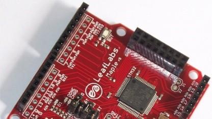 Typisches STM32-Board, hier von Leaflabs