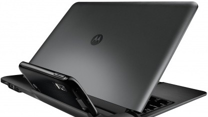 Atrix im Laptop Dock