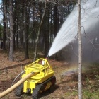 Roboter: Thermite löscht Feuer