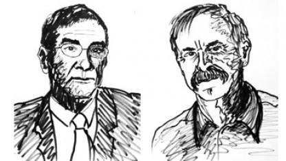 Serge Haroche (l.) und David Wineland