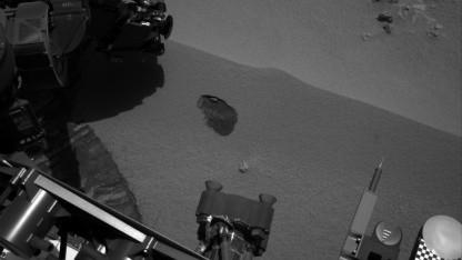 Marsrover Curiosity: Probe genommen