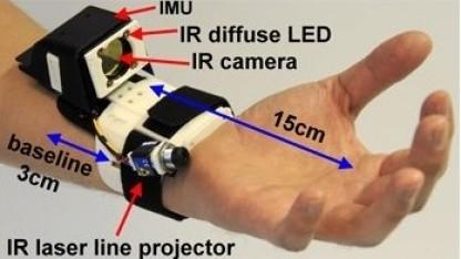 Digits: Erkennung der Fingerbewegung bis auf einen Zehntel Millimeter genau