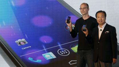 Google und Samsung stellten das Galaxy Nexus im Oktober 2011 vor.