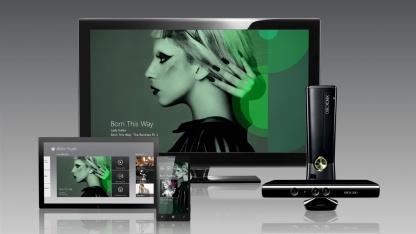 Xbox Music für Xbox 360, Windows 8, Windows RT und Windows Phone 8