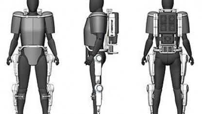 Roboteranzug HAL: Belüftung und Sensor für Vitaldaten