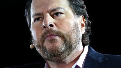 Salesforce.com-Chef Marc Benioff