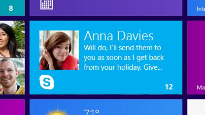 Skype für Windows 8