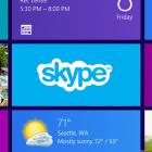 Microsoft: Skype für Windows 8 ausprobiert