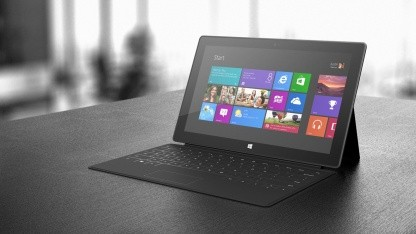 Erste Tests von Microsofts Tablet Surface mit Windows RT