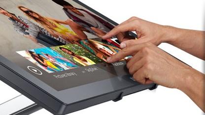 Dells erster Touchsceen-Monitor S2340T kommt zum Windows-8-Start.