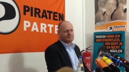 Piratenpartei-Chef Bernd Schlömer