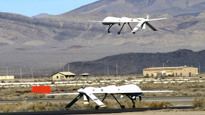 Drohne Reaper: im Luftraum von Nevada, Kalifornien und Utah geflogen