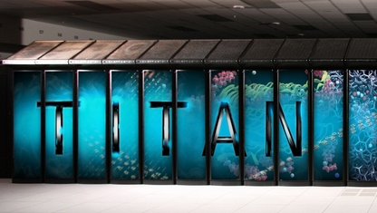Supercomputer Titan am ORNL