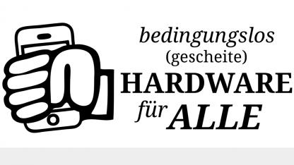 Handy, Router, Laptop: Alte Hardware sucht neues Zuhause