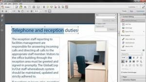 Acrobat XI erlaubt das Editieren von PDF-Dateien.
