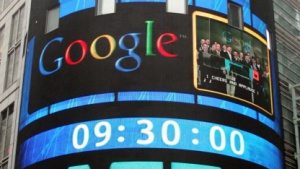 Googles Börsengang im Jahr 2004