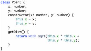 Typescript erweitert die Javascript-Syntax.