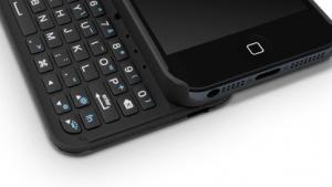 Keyboard Buddy: Tastatur zum Unterschnallen für das iPhone 5