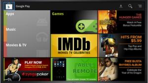 Google Play für Google TV bietet nun mehr.