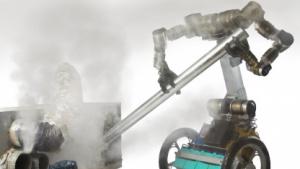 Roboter Golem Krang: erkennen, wozu ein Objekt genutzt werden kann