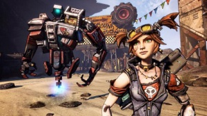 Mechromancer in Borderlands 2 (Artwork)