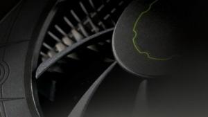Der Lüfter einer Geforce 650 Ti, für die nun der erste WHQL-Treiber erhältlich ist