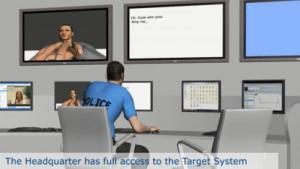Ausschnitt aus einem Werbevideo für Überwachungssoftware von Gamma International