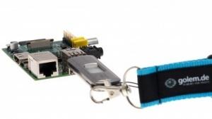 Raspberry Pi wird ab sofort mit 512 MByte RAM ausgeliefert.