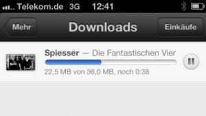 iOS 6: iTunes Match vergeudet Mobilfunk-Datenvolumen
