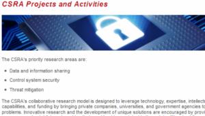 Die Vorhaben der CSRA