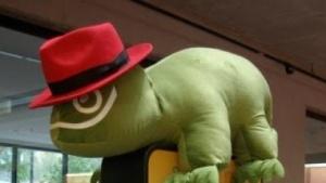 Auf der Opensuse-Konferenz waren auch Red-Hat-Angestellte anwesend.