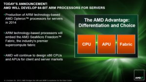 Drei Bausteine für alle AMD-Prozessoren - ARM ist neu
