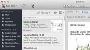 Evernote 5 für Mac mit komplett überarbeiteter Bedienoberfläche