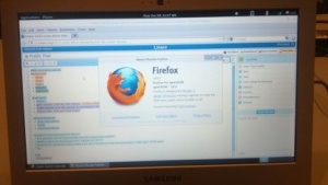 Opensuse auf einem Chromebook mit ARM-Prozessor
