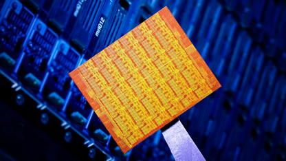 Der Forschungschip SCC mit 48 Kernen