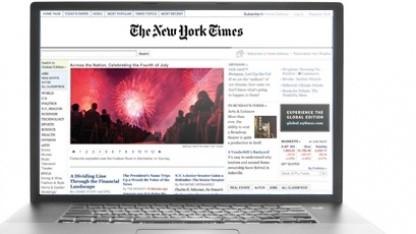 Studie untersucht Zahlungsbereitschaft der NYT-Leser.