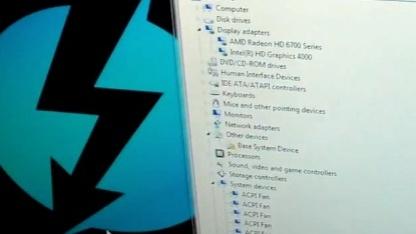 Lucids Software bindet externe Thunderboltkarten on-the-fly ins System ein.