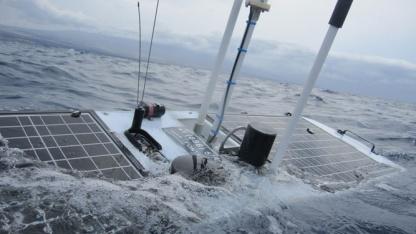 Wave Glider: Luftdruck von 946 Millibar