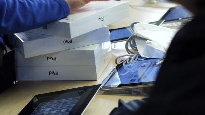 Nur noch jedes zweite verkaufte Tablet war von Apple.